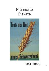 Awarded poster 1941-1945Prämierte Plakate 1941-1945