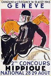 Barraud Maurice - Concours Hippique