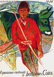 Carigiet Alois - Esposizione cantonale
