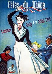 Monnerat Pierre - Fêtes du Rhône