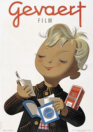 Brun Donald - Gevaert Film