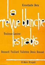 Flückiger Adolf - La revue blanche les nabis