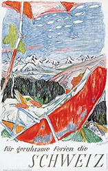 Carigiet Alois - für geruhsame Ferien die Schweiz