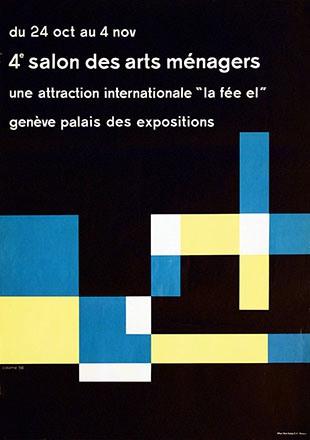 Calame Georges - 4e Salon des arts ménagers