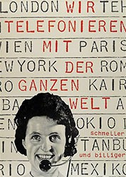 Müller-Brockmann Josef - Wir telefonieren