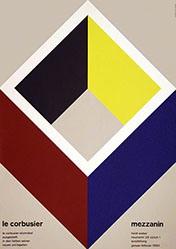 Hablützel Alfred - Le corbusier, Mezzanin