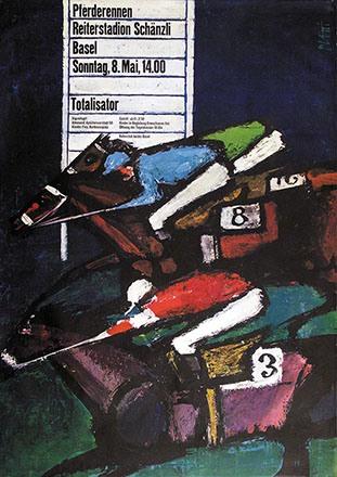 Piatti Celestino - Pferderennen