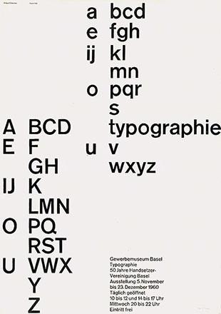 Büchler Robert - Typographie