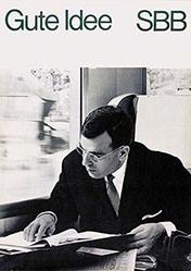 Zeugin Mark - CFF - je préfère le chemin de fer