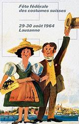 Monnerat Pierre - Fête fédéral des costumes suisses