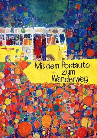 Wetli Hugo - Mit dem Postauto zum Wanderweg