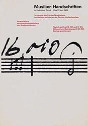 Rüegg Ruedi - Musiker-Handschriften
