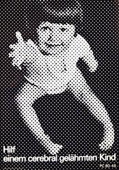 Zwissler-Werbung - Hilf einem cerebral gelähmten Kind