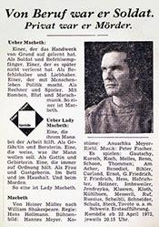 Stuber Guido (GGK Werbeagentur) - Von Beruf war er Soldat