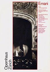 Spalinger Peter / Rüegg Ruedi - Opernhaus Zürich