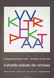 Bill Max - Kulturelle Plakate der Schweiz
