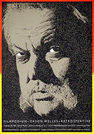 Brühwiler Paul - Orson Wells - Retrospektive