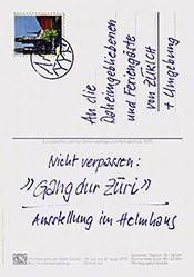 Ernst und Tellenbach - Gang dur Zürich