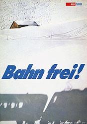 Wälti Robert - SBB - Bahn frei !