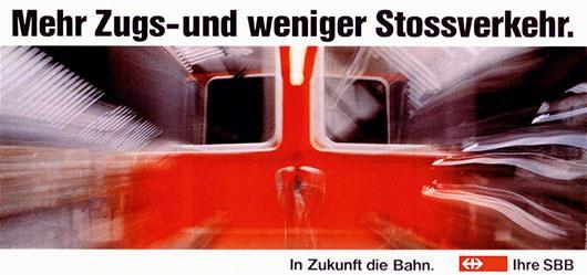 Babst Mathias / Zürcher Hansjörg - SBB- In Zukunft die Bahn