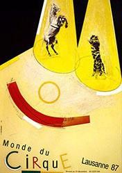 Jeker Werner - Monde du cirque Lausanne