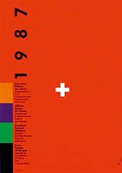 Odermatt Siegfried - Schweizer Plakate des Jahres