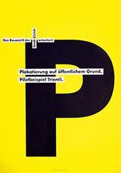 Gottschalk Fritz - Plakatierung auf öffentlichem Grund