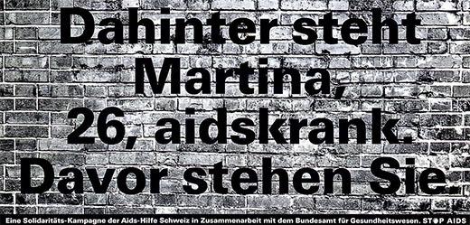 Schaub / Fennel / Huber - Dahinter steht Martina, 26, aidskrank