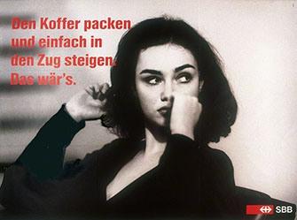Preisig Rolf / Tonti Paolo - Den Koffer packen ....