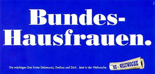 Bühler Willi / Jäggi Roland - Bundes-Hausfrauen