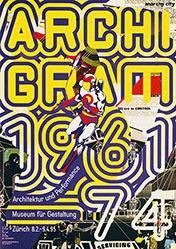 Schraivogel Ralph - Archigram 1961-74