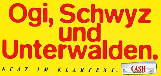 Bühler Willi - Ogi, Schwyz und Unterwalden
