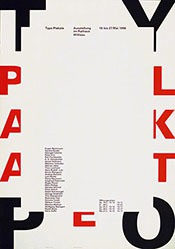 Troxler Niklaus - Typo Plakate