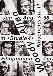 Schraivogel Ralph - Woody Allen